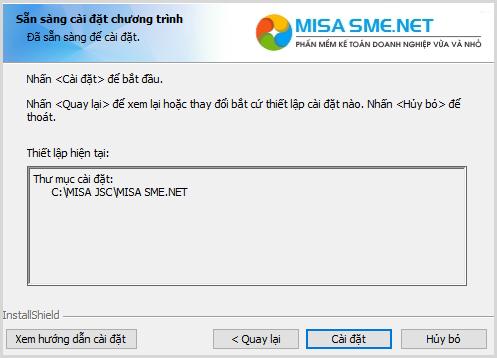 Hướng dẫn cách cài đặt phần mềm MISA 2021 18