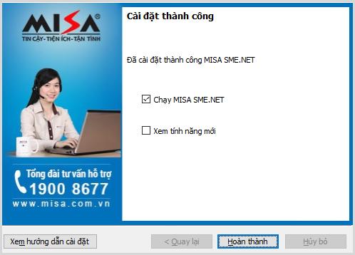 Hướng dẫn cách cài đặt phần mềm MISA 2021 19