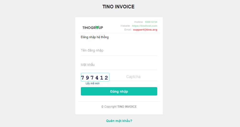 Hướng dẫn truy cập tài khoản hóa đơn điện tử 10