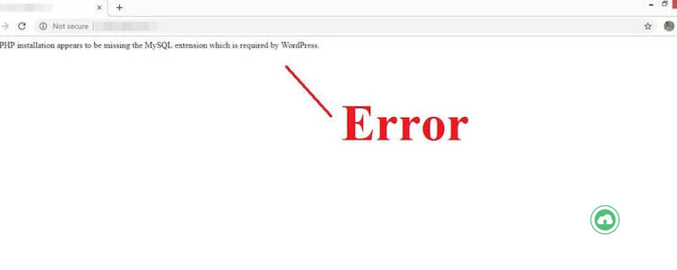 Your Php Installation Appears To Be Missing The Mysql Extension Which Is Required By Wordpress 1024x576 1 750x300 1