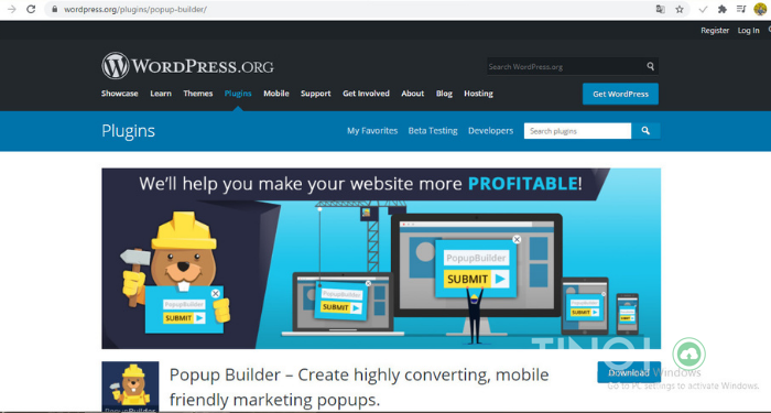plugin-tao-popup-cho-WordPress