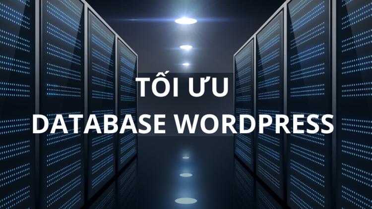 Cách tối ưu database WordPress hiệu quả mới nhất 2021 1