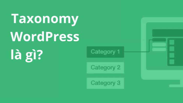 Taxonomy WordPress là gì? Hướng dẫn cách Custom taxonomy 1