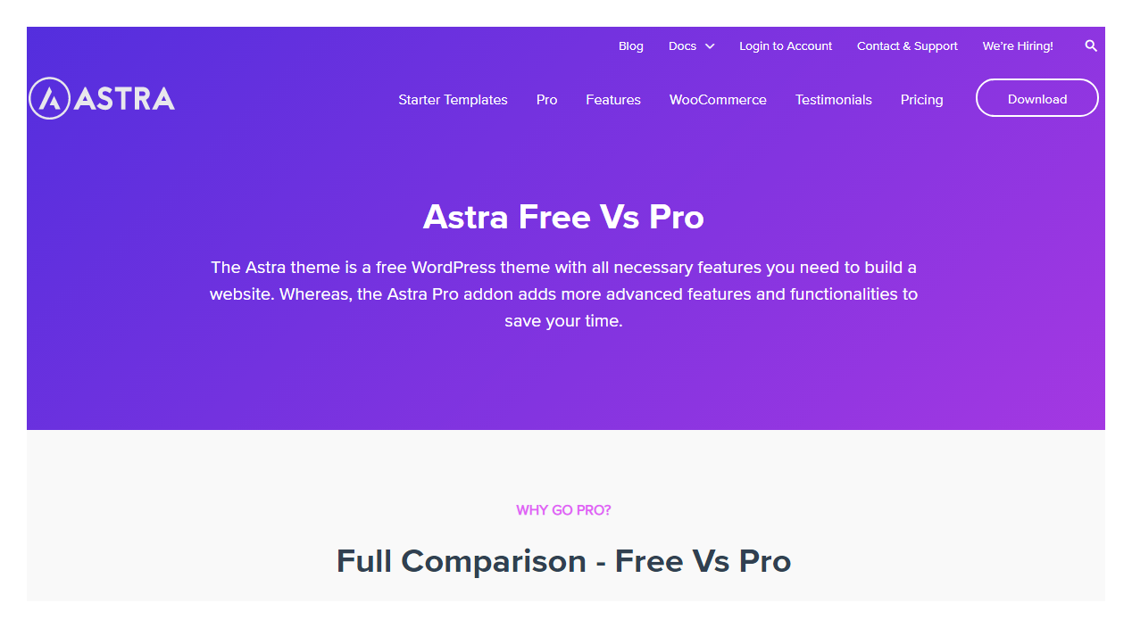 review-astra-theme-pro