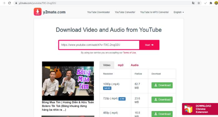 Hướng dẫn cách tải video từ Youtube về máy tính và điện thoại không dùng phần mềm 2