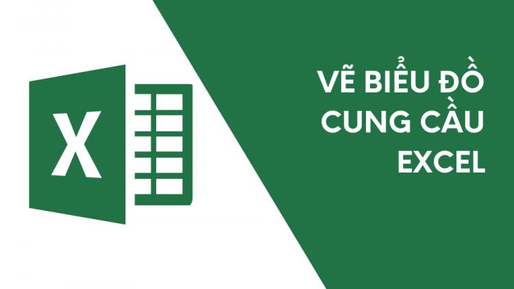 Hướng dẫn chi tiết cách vẽ biểu đồ cung - cầu trong Excel 1