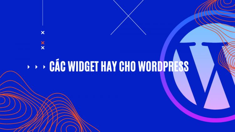 Top 7 Widget hay cho WordPress 2021 1