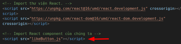 ReactJS: Cách tích hợp ReactJS vào website 9