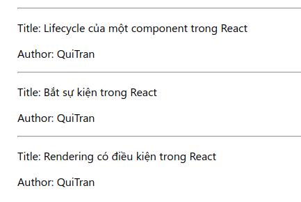 ReactJS: Giới thiệu Lists và keys trong React 8