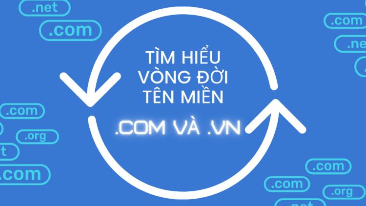 Tìm hiểu vòng đời tên miền .com và .vn 1