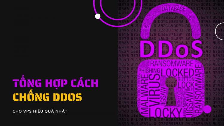 Tổng hợp cách chống DDoS cho VPS hiệu quả năm 2021 1