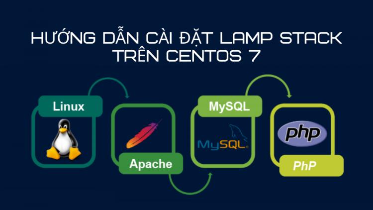Hướng dẫn cài đặt LAMP Stack trên CentOS 7 1